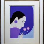 作品番号/191 ジークレー版画 <br/>「秋桜」 サイズ:665 x 540mm エディション:50