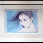 作品番号/197 ジークレー版画 <br/>「蒼穹の風」 <br/>サイズ:440 x 540mm エディション:50