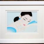 作品番号/199 ジークレー版画 <br/>「やさしいまなざし」 <br/> サイズ:510 × 615mm エディション:60