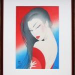 作品番号/206 ジークレー版画 <br />「彩錦」 <br />サイズ:570 x 445mm エディション:100