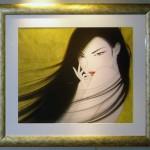作品番号/207 ジークレー版画 <br />「乱・Gold」<br /> サイズ:880 x 1000mm エディション:70